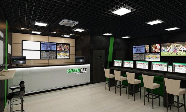 Игровой букмекерский зал GreenBet