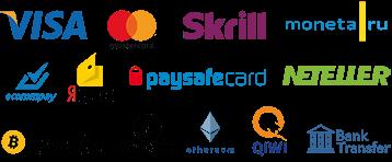 Подключение платежных систем для казино