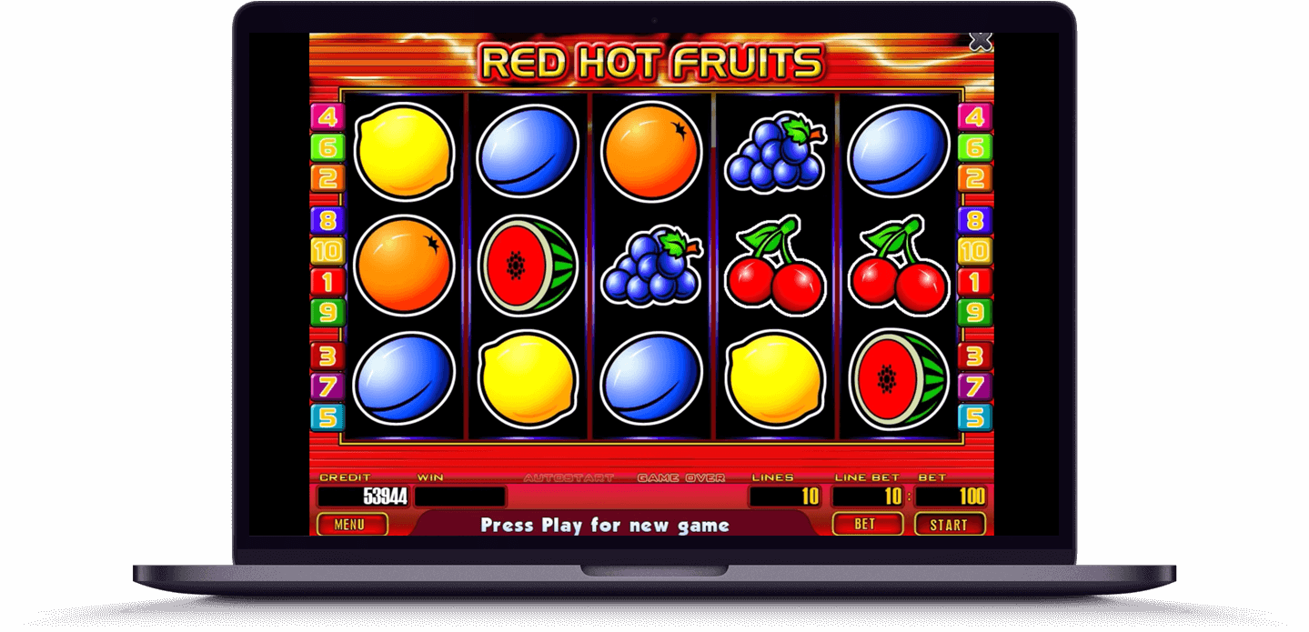 Red Hot Fruits слот от Globalslots