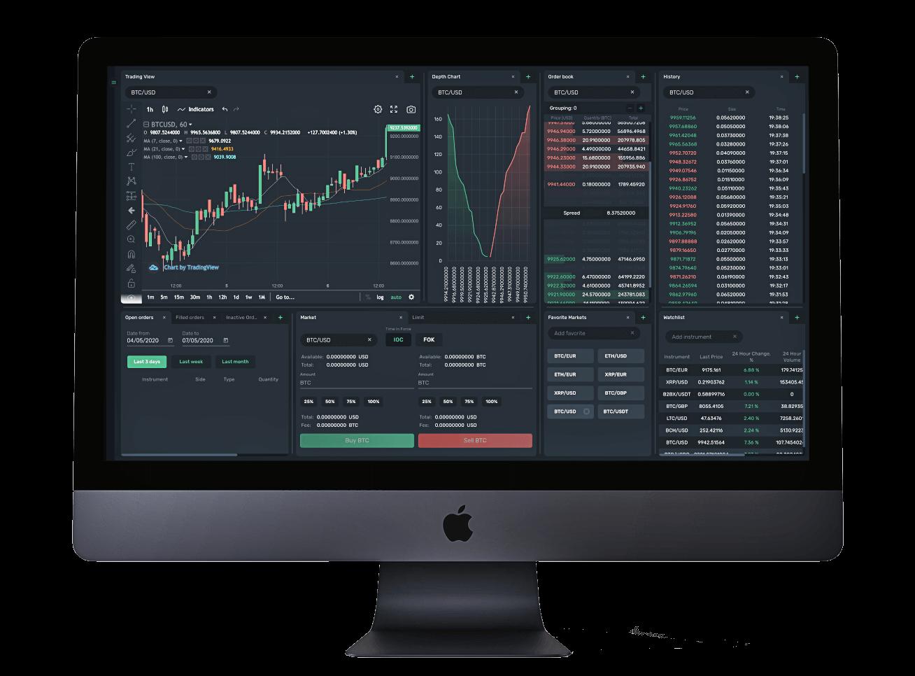 Криптовалютная Торговая платформа